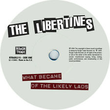 The Libertines. Repro record label sticker. What Became Of The Likely lads