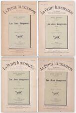 La petite illustration Roman - Les jeux dangereux de Henry Bordeaux - 1925