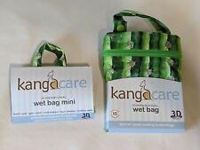 Set of Kanga Care Prickles Wet Bag and Wet Mini bag  2 bags