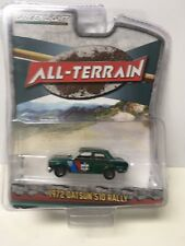 GREENLIGHT ALL- TERRAIN SERIES 7 1972 DATSUN 510 RALLY  GREEN MACHINE CHASE