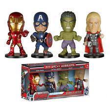 Avengers Age of Ultron Mini Bobble Head Wacky Wobbler 4-Pack Thor Hulk Iron Man
