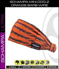 Schampa™ Mini-DOOZ Stretch Headband, Orange Barb Wire DZ02-1015 Biker Headwear