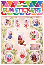 """8 x bolsas de botín Mariposa Sparkle 9/"""" Rosa Chicas Fiesta de Cumpleaños nuevo tratar Goody"""