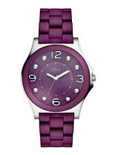 S.Oliver Women's Watch so-2487-mq Analog Stainless Steel, Plastic Purple