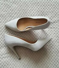 Brand New Call It Spring Glittery Silver High Heel  Shoe Party Size 7