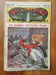 William King Nr. 19, Italien, Edizioni Illustrate Americane