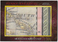 Penny Dreadful Prop Relic Card Sir Malcom Murray's Map M05 M-05 Version B