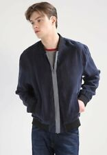 BNWT Mens Religion Statistic Bomber Jackets Navy Size XL MHSTJ31 RRP £100