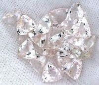 ONE 5mm Round Light Pink Checkerboard Morganite Gem Stone Gemstone EBS1659