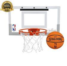 Spalding Nba Slam Jam Over Door Mini Basketball Hoop Home Overthedoor Play Game