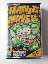 *** Manic Miner - BBC MICRO CASSETTE TAPE - MANUAL & PROTECTION SHEET ***