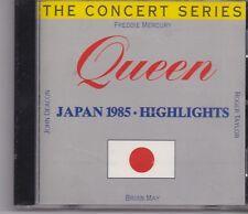 Queen-Japan 1985 Highlights cd album