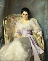 John Singer Sargent Lady Agnew Of Lochnaw Giclee Canvas Print Paintings Poster