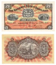 1957 NATIONAL BANK OF SCOTLAND Ltd £ 1 BANKNOTE-BYB ref: SC503e-unc.