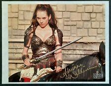 "SIGNED Xena: Warrior Princess ""EVE"" ADRIENNE WILKINSON Autograph 8X10 Glossy COA"