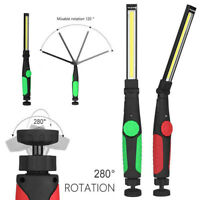 90000LM Rechargeable COB LED Slim Work Light Lamp Flashlight Magnetic Inspect