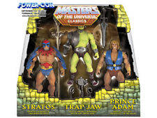 MOTU Classics Power-Con '17 Prince Adam Trap Jaw Stratos Masters of the Universe