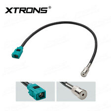 XTRONS Fakra Interface Car ISO Radio Antennna Cable Adapter for Auto Stereo