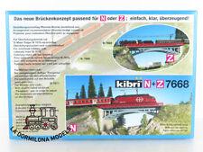 KIBRI B-7668 ESCALA N / Z PUENTE METALICO CON ARCO 17,5cm. - NUEVO A ESTRENAR