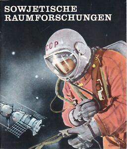 Sowjetische Raumforschungen Raumschiffe Weltall Venus Mars Kosmos Mond
