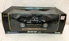 *NEW* Welly Collectible BMW Z8 Roadster, Black 1:18