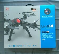 (ON SALE) LH-X14C 2.4G 6CH 6Axis GYRO RC Quadcopter HD Camera One Key Return