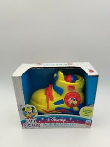 Disney Mickey Mouse Baby Activity Sneaker New Ages 18 Months Up
