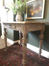 Vintage Pine Console Table / Desk