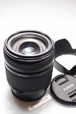 SONY SAL18250 18-250mm DT 3.5-6.3 ZOOM LENS W/CAPS/HOOD