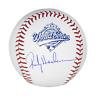 Rickey Henderson Signed Official 1993 World Series Major League Baseball (JSA)