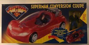Superman Conversion Coupe w/Exclusive Clark Kent Figure Factory Sealed 1996