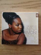 Songs To Sing - Nina Simone 2xCD  Music Club Deluxe