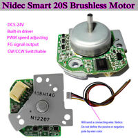 BLDC Nidec Smart 20S PWM Outer Rotor5-24V Brushless Motor Pulse Signal Output FY