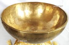 34 Cm Great And Super Powerful healing and Energy Tibetan 7 Metal Singing Bowl