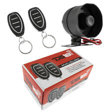 Car Alarm Security System Shock Sensor, 2 Remote Controls Keyless Entry Ds18