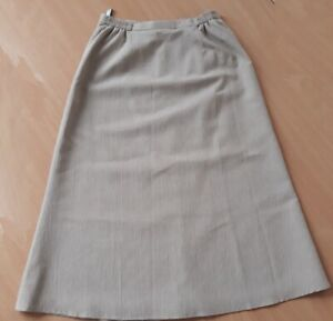 Ladies lined beige skirt by Eastex- size 12
