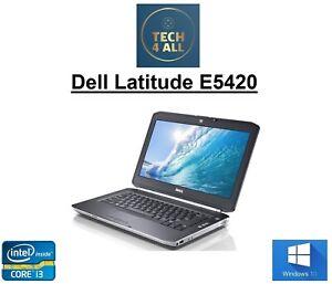Dell Latitude E5420 Intel Core i3-2330m120GB SSD 4GB Ram HDMI WEB DVD Win10