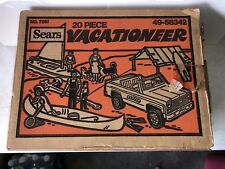Vintage SEARS Nylint Pressed Steel 20 Piece Vacationeer Set in Original Box A+++
