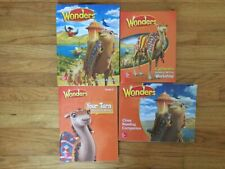 Wonders McGraw Hill Grade 3 Reading Textbooks + Workbooks Set - New - Set of 4