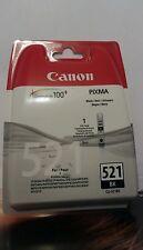 Canon CLI - 521BK, Schwarz-Schutzhülle mit Sicherheit-/Original