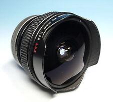 Canon Fish-Eye Lens FD S.S.C. 15mm / 2.8 für Canon FD Objektiv objectif - 82052