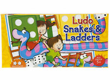 Classic Multi Player Ludo & Snakes and Ladders Board Games Set - Square Game