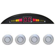 PDC - EINPARKHILFE LED-Display + 4 SENSOREN SILBER