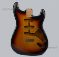 3TS Sunburst Finished Electric Guitar Body Alder Replacement SSS for Strat St
