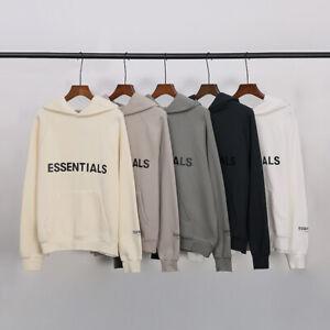 FOG ESSENTIALS Men Cotton Fleece Hoodies Sweatshirt Casual Sweatshirts