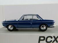 PCX87 870030 BMW 2000 CS Coupé (1965-1970) in dunkelblau 1:87/H0 NEU/OVP
