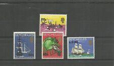 SEYCHELLES-SG253-256-BICENT OF LANDING ON PRASLIN MNH