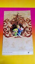 NEW Legend Zelda Twilight + Phantom - Nintendo Power Original RARE Poster DS