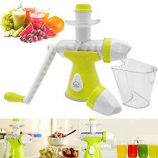 Manual 2 in 1 Fruit Vegetables Juice Juicer Ice Cream Maker Machine Extractor