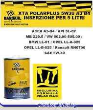 5 Litri BARDHAL XTA 5W30 PolarPlus Olio X Auto ACEA A3-B4 VW502 505.00 Bmw LL01